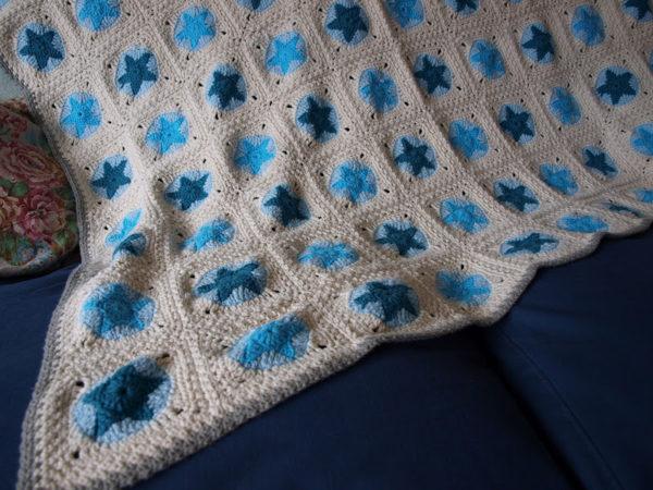 Детское одеяло «Россыпь Звёзд» купить ручная работа