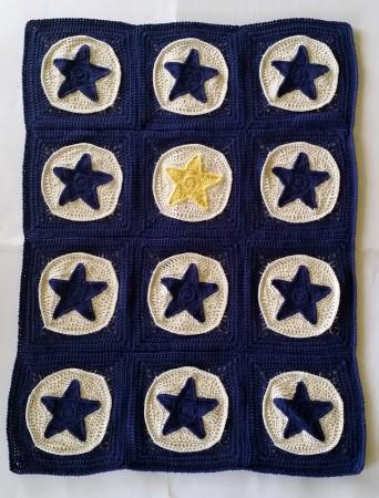 одеяло из звезд ручная работа купить